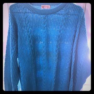 Gucci blue men sweater